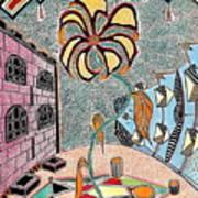 Cityflower Art Print