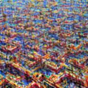 Citypattern Art Print