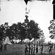 Civil War: Balloon, 1862 Art Print