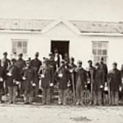 Civil War: Band, 1865 Art Print