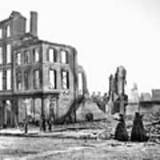 Civil War: Fall Of Richmond Art Print