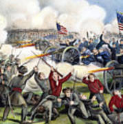 Civil War: Gettysburg, 1863 Art Print