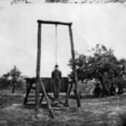 Civil War: Hanging, 1864 Art Print