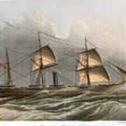 Civil War: Uss Kearsarge Art Print