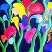 Clamflower Iv Art Print