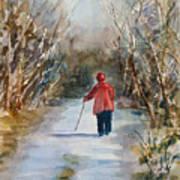 Clare's Lane Art Print