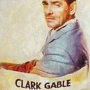 Clark Gable, Actor Art Print
