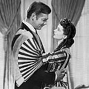Clark Gable And Vivien Leigh Art Print