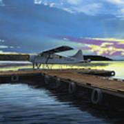 Clark's Air Service Art Print