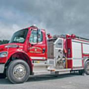 Clarks Chapel Fire Rescue - Engine 1351, North Carolina Art Print