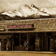 Clarks Old General Store Art Print