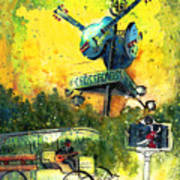 Clarksdale Authentic Madness Art Print
