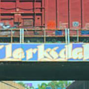Clarksdale Overpass Art Print