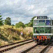Class 31 Diesel 4 Art Print
