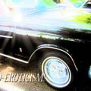 Classic Automobile, Auto Eroticism Art Print