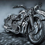 Classic Bike Art Print