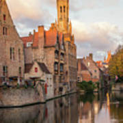 Classic Bruges Art Print