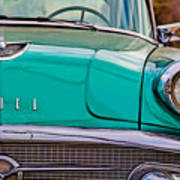 Classic Buick Art Print by Mamie Thornbrue
