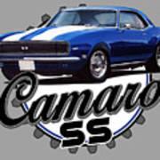 Classic Camaro Art Print