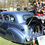 Classic Car Decorations Day Dead  Art Print