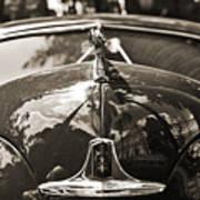 Classic Car Detail - Dodge 1948 Art Print