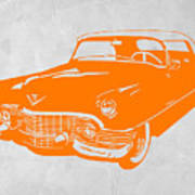 Classic Chevy Print by Naxart Studio