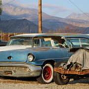 Classic Chevy True Blue Art Print