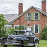Classic Chrysler 1940s Sedan Art Print