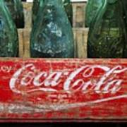 Classic Coke Art Print