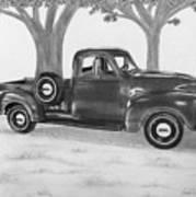 Classic Gmc Truck Art Print