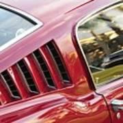 Classic Mustang Fastback Art Print