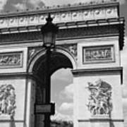 Classic Paris 6 Print by Andrew Fare