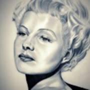 Classic Rita Hayworth Art Print