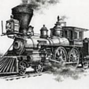 Classic Steam Art Print by James Williamson