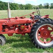 Classic Tractor Art Print