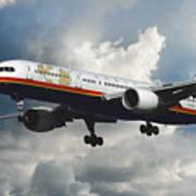 Classic Twa Boeing 757-231 Art Print