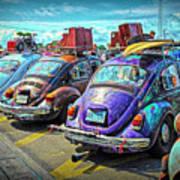 Classic Volkswagen Beetle - Old Vw Bug Art Print