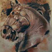 Classical Horse 5 Art Print