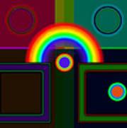 Classical Rainbow Art Print