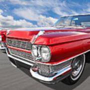 Classy - '64 Cadillac Art Print