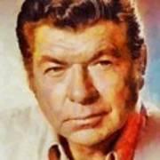 Claude Akins, Vintage Hollywood Actor Art Print