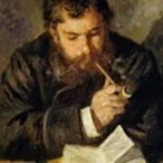 Claude Monet The Reader 1874 Art Print