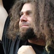 Claudio Sanchez Of Coheed And Cambria Art Print