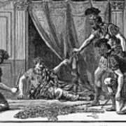 Claudius And Guards Art Print