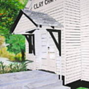 Clay Chapel Art Print