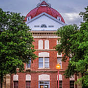 Clay County Courthouse Art Print