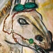 Clay Horse Art Print