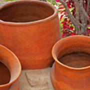 Clay Pots Art Print