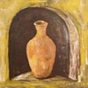Clay Vase Art Print