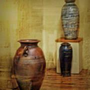 Clay - Wood Art Print